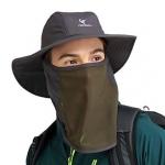 """הקיץ כבר כאן! כובע שמש עם מסנן קרינה + מגן פנים נפרד – רק ב35 ש""""ח! (שלל צבעים לגברים/נשים/ילדים)"""