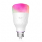YEELIGHT YLDP06YL Smart Light Bulb – המנורה החכמה של שיאומי – דגם חדש ומשופר! 16 מיליון צבעים וחיבור לWIFI, גוגל, אלקסה ועוד!