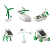 """צעצוע חינוכי! 6 צעצועים חכמים באחד! מאוורר, סירה, רכב, חרק ועוד – ואפילו לא צריך סוללות – פועל עם משטח סולארי! – רק כ15 ש""""ח!"""