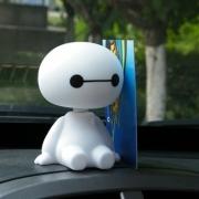 כן או לא? תחליט: Baymax Robot לדאשבורד – מנענע ראש – ב- 0.8 $ בלבד, כולל משלוח! [מוגבל]