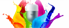 מנורה חכמה שאיומי –RGB E27 – ב-14.98$, כולל משלוח!