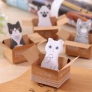 """""""חתול-תזכורת"""" – חבילת פתקים לתזכורת – ב-$1.69, כולל משלוח!"""