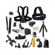 ערכה משלימה לכל מצלמה – 21 אביזרים – ב-16.29 $ כולל משלוח! [פחות מ-3₪ לאביזר]