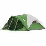 """Coleman Evanston – אוהל ל8 עם רשתות! הכי זול שהיה! כ680 ש""""ח"""