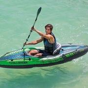 "Intex Challenger K1 Kayak – קיאק מתנפח! 383 ש""ח עד הבית! בארץ? מתחיל ב550 ש""ח!"