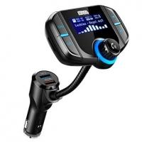 WAZA – משדר FM-בלוטות', עם דיבורית, מטען מהיר ועוד – רק 12.99$