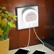 Alfawise HTV – מנורת לד לחדר שינה – כולל חיישן + שקע טעינה עד 2 מכשירים – ב- 1.99$!