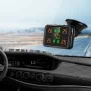 """מערכת TPMS – לניטור לחץ אוויר בצמיגים – חובה בכל רכב! רק 140 ש""""ח!"""