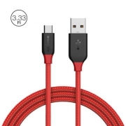 BlitzWolf® Ampcore BW-MC4 2.4A Micro USB Braided Cable 3.33ft/1m for Samsung S7 Redmi Note 4 Sale –