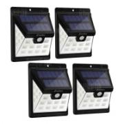 מארז 4 מנורות לד סולאריות – ZENFLARE – לגינה / חצר / מרפסת – עמיד במים – להתקנה קלה – ב-29.99$ !
