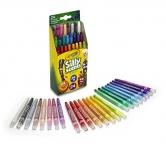 ציורים עם ניחוח : מארז 24 צבעים לילדים – מבית CRAYOLA – בריחות משגעים! מוצר ADD-ON – שלמו רק$6.89 על המוצר!