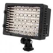 ראש פלאש למצלמות סטילס / וידאו -NEEWER – עם 160 נורות לד –עוצמה וזווית מתכווננים – ב- 132 ₪ !