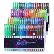 מארז 80 עטים צבעוניים – גוונים שונים !! לצביעה / כתיבה – לילדים ומבוגרים – ב-65 ₪!