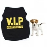 גם להם מגיע: חולצת VIP לכלב שלכם – החל מ-1$ – במגוון מידות !