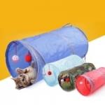 משחק צינור גלגלון – לחתול / כלב – 6 צבעים לבחירה – ב- 3.28$ !