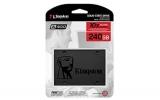 """Kingston A400 SSD 240GB SATA 3 כונן מהיר במחיר משתלם במיוחד רק 168 ש""""ח כולל משלוח עד הבית"""