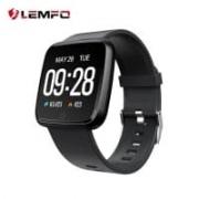 שעון ספורט חכם של LEMFO – עם מד דופק, חמצן ולחץ דם, עמיד במים רק ב$19.79