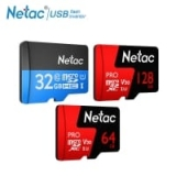 כרטיסי זיכרון מעולים ומהירים של Netac בגרושים! 32GB ב6.99, 64GB ב11.99$ ו128GB רק ב28.99$!!!