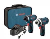 """דיל קודח! סט קומבו – 2 מברגות-מקדחות 12V של בוש עם 2 סוללות – רק ב570 ש""""ח! Bosch12-Volt Max"""