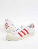 אדידס סופרסטאר אדום לבן ב₪215 בלבד! | adidas Originals Superstar