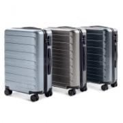 מזוודת שיאומי ללא מכס! 90FUN – קשיחה, עם מנעולי TSA, גלגלי סיליקון שקטים ועוד