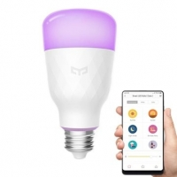Original Xiaomi Mi Yeelight RGB 10W LED Wireless WIFI Control Smart E27 Light Bulb AC100 240V