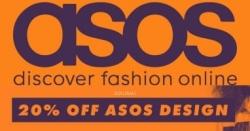 אסוס   20% הנחה על אלפי פריטים של ASOS DESIGN לנשים וגברים!