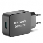 Qualcomm Certified BlitzWolf BW S5 QC3.0 18W USB Charger EU Adapter With Power3S Tech