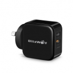 BlitzWolf BW S6 QC 3.0 2.4A 30W Dual USB Charger AU Adapter for iphone 8 8 Plus iphone X Xiaomi