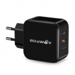 BlitzWolf BW S6 QC3.0 2.4A 30W Dual USB Charger EU Adapter for iphone 8 8 Plus iphone X Xiaomi