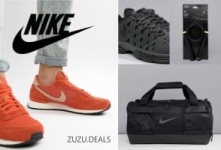 Nike   גבר! מגוון פריטים של נייק במחירים של פעם בשנה! נעליים, תיקים ועוד!!