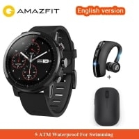 הכי זול אי פעם! ועוד עם עכבר שיאומי או אוזניית בלוטות' מתנה! Amazfit Stratos Pace 2 – השעון החכם הכי מבוקש של שיאומי רק ב$121.87