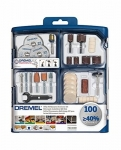 """סט 100 חלקי Dremel מקורי! רק 118 ש""""ח עם משלוח! (ופחות אם מצרפים מוצרים נוספים!)"""