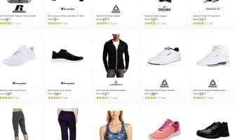 סייל שווה במיוחד על בגדי ספורט באמזון! נעלי צ'מפיון וריבוק ב30$ עד הבית! בגדי ספורט ועוד!
