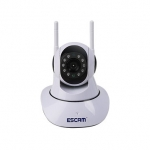 ESCAM G02 Dual Antenna 720P PanTilt WiFi IP IR Camera Support ONVIF Max Up to 128GB Video Monitor