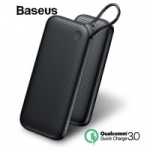 מטען נייד / סוללת גיבוי של Baseus בנפח ענק – 20000mAh עם 2 פורטים של QC3.0 וגם USB-C PD רק ב31.99$!