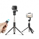 BlitzWolf BW BS5 Extended Multi angle Bluetooth Tripod Selfie Stick for Smartphones Sports Camera