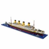 DIY Titanic Shape Block | דגם לגו של הטיטאניק ב14.99$ ומשלוח חינם!