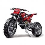 """Decool Technic City Moto Cross – מודל אופנוע שטח לבניה – 253 חלקים! רק ב66 ש""""ח!"""