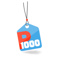 """הקופון האהוב של P1000 חזר! 50 ש""""ח מתנה בקנייה מעל 100 ש""""ח!"""
