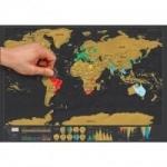 נו איפה כבר ביקרתם בעולם? תפסו מהר לפני שיגמר – מפת גירוד ארצות רק בכ8 שקל!