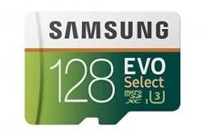כרטיס זכרון Samsung 128GB 100MB/s רק 28$ כולל משלוח מאמזון
