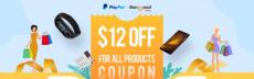 עד 12$ הנחה לקונים עם PayPal באתר Banggood!