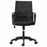 אתם יושבים? כיסא מחשב לבית ולמשרד – אפור/שחור – במחיר בלעדי ומשוגע! רק 199 שח!