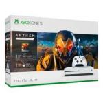 *נגמר*! קונסולת XBOX ONE S 1TB כולל המשחק Anthem – רק ב₪1,029+משלוח חינם!