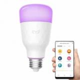 עדיין אין לכם נורה חכמה בבית?! מנורה חכמה עם WIFI וכל צבעי הקשת – Xiaomi Yeelight YLDP06YL E27 10W RGBW רק ב16.99$