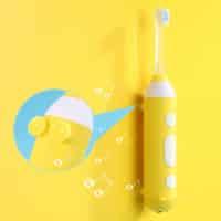 Alfawise YS009 – מברשת שיניים אולטרסונית מדליקה לילדים – עם מוזיקה!