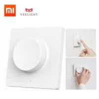 זה מחיר! רק 10.80$! יש לכם מנורה חכמה של Xiaomi Yeelight? בואו להשלים את הסט עם מתג תאורה חכם עם דימר בגרסא אלחוטית!