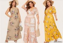 לקט שמלות אביביות ומושלמות למידות גדולות! עד ₪99