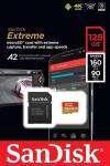 SanDisk 128GB Extreme microSD U3 A2